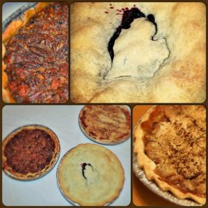 blueberry pie dutch apple pie and Pecan